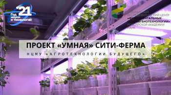Вертикальная ферма ФИЦ Биотехнологии РАН